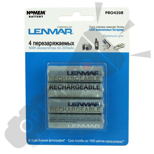Аккумулятор Lenmar PRO 420