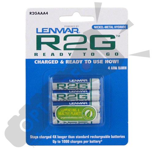 Аккумулятор Lenmar R2G AAA 4